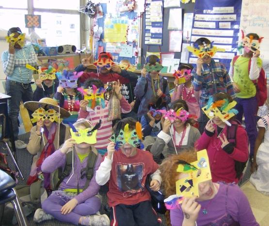 Masques du Mardi gras